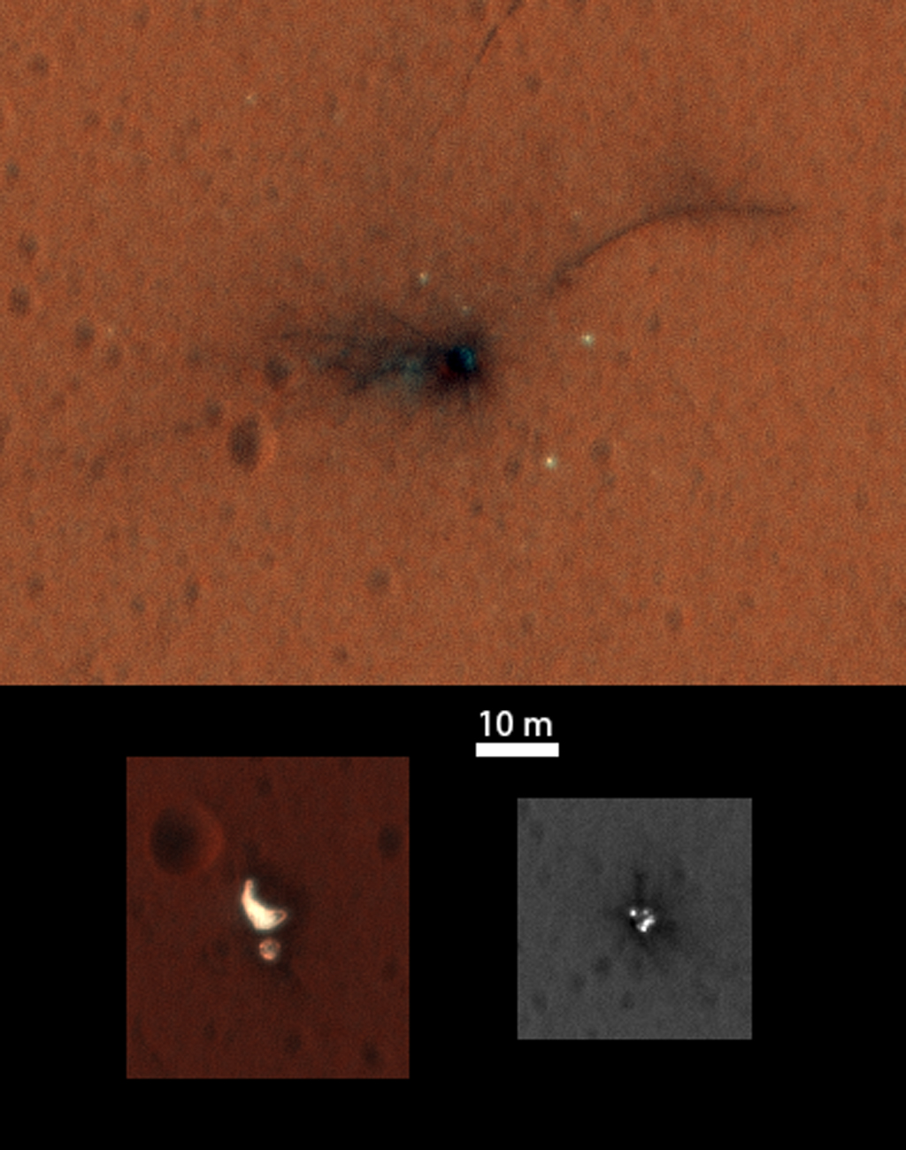 Schiaparelli crash site